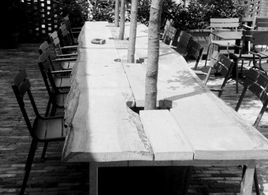 Fonga Woodworks Eiken tafel